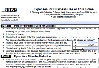 home business deductions