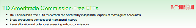 Commission Free ETF