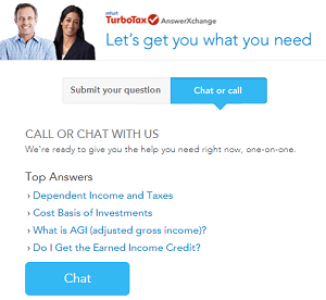 TurboTax Live Support