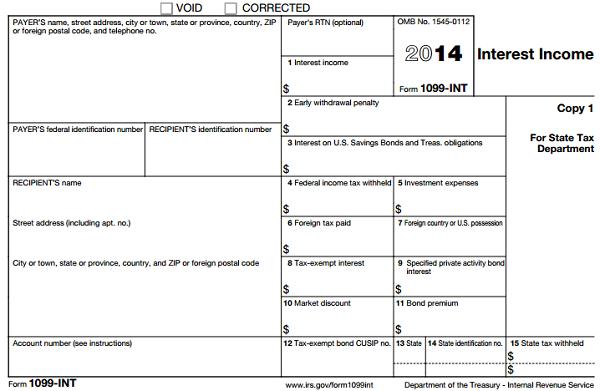 1099 form how much money  Understanding Tax Form 10-INT • Novel Investor