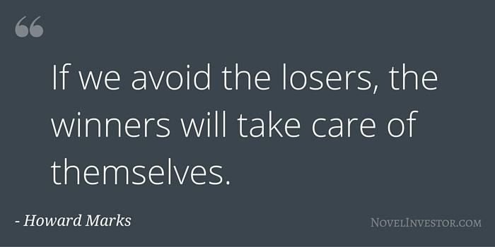Howard Marks on Avoiding Losers