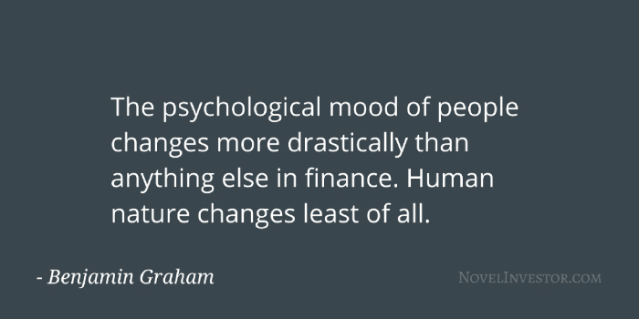 Graham on psychology and human nature