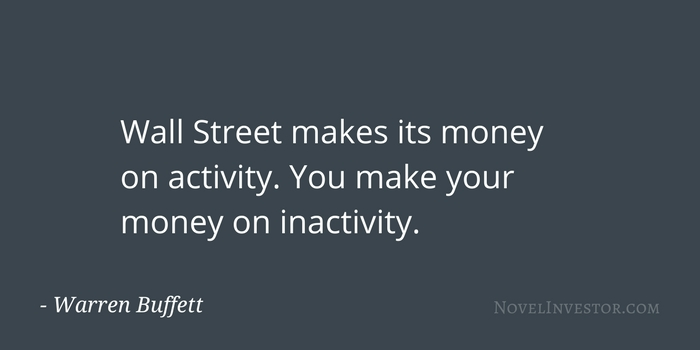 Buffett on being inactive