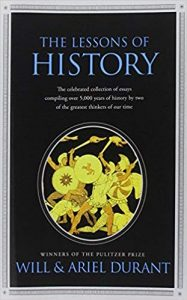 The lesson of history book cover