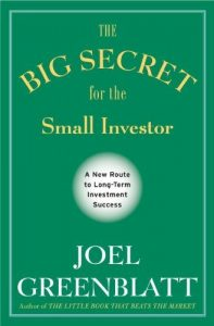 The Big Secret for the Small Investor book cover