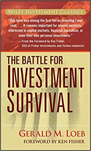 The Battle for Investment Survival book cover