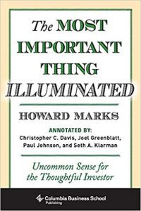 Most Important Thing book cover