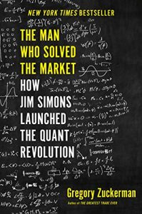 The Man Who Solved The Market book cover
