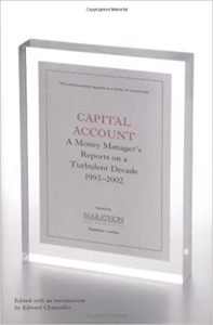 Capital Account book cover